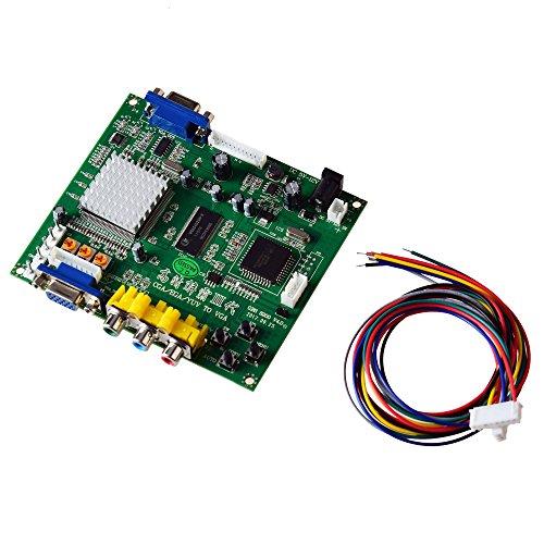 Mcbazel Arcade Spiel RGB / CGA / EGA zu VGA HD Spiel Video Ausgang Konverter Board für Arcade-Spiel Monitor zu CRT LCD PDP Projektor
