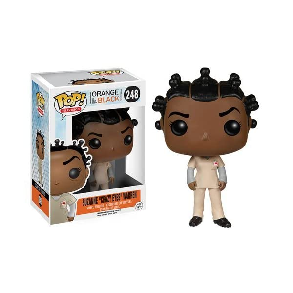 Orange is the New Black Suzanne Crazy Eyes Warren Pop Vinyl Figure by Orange is the New Black