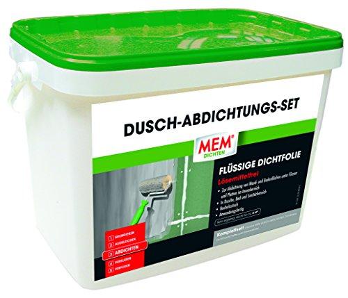 Preisvergleich Produktbild MEM Dusch-Abdichtungs-Set (MEM Dusch Dicht System) - Zur Abdichtung von Bädern und Duschen