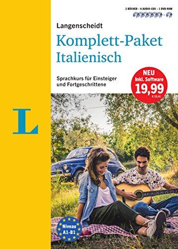 Langenscheidt Komplett-Paket Italienisch - Sprachkurs mit 2 Büchern, 6 Audio-CDs, 1 DVD-ROM,...