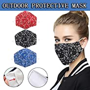BeAcient Dust Mask, Anti-dust Mouth Mask, Unisex Cotton Face Mask Muffle Shield Spot Mask for Cycling Travel O