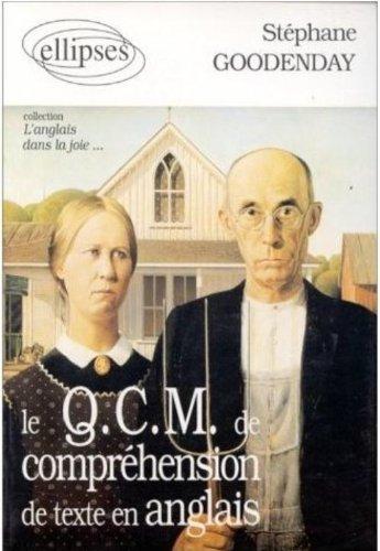 Le QCM de compréhension de texte en anglais