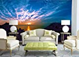 Papel Pintado Caribe Sunglow Pared Del Fondo Fotomural 3D Mural Pared Moderno Wallpaper