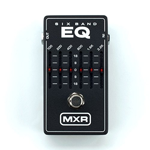 MXR 6 Band Graphic EQ Pedal (japan import)