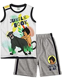 Disney The Jungle Book Chicos Camiseta y pantalón corto 2016 Collection - Blanco
