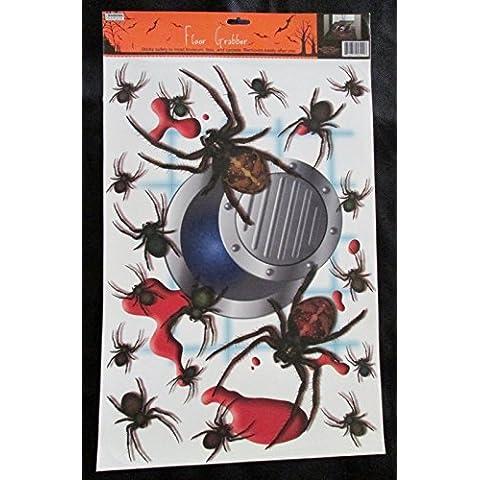 CAC Halloween ragni e scarico pavimento Cling