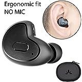 Avantree MINI Bluetooth 4.1 Ohrhörer Ohrstöpsel OHNE MIKROFON, Kleines kabelloses Ohrstück Headset für Podcasts und Audiobooks, unsichtbar & bequemer Sitz, nur für das rechte Ohr geeignet - Apico