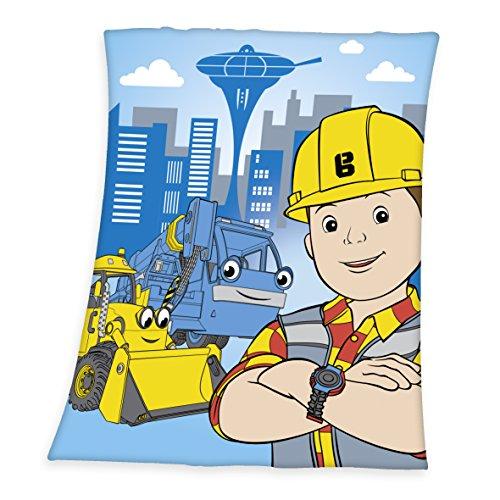 bob-the-builder-coperta-di-pile-poliestere-multicolore