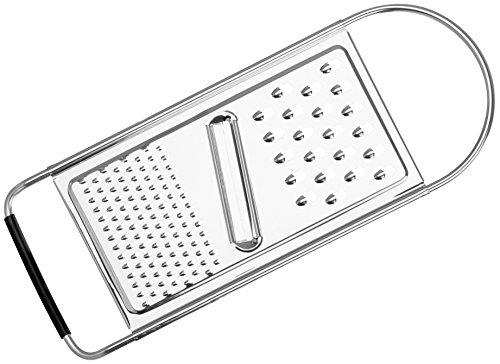 Stanley Rogers Universalreibe 30 cm, Allzweckreibe mit formschönen Design aus hochwertigem Edelstahl, Universalhobel mit extra scharfer Klinge und Antirutsch-Fläche, 2 Reibeflächen - spülmaschinengeeignet, Menge: 1 Stück