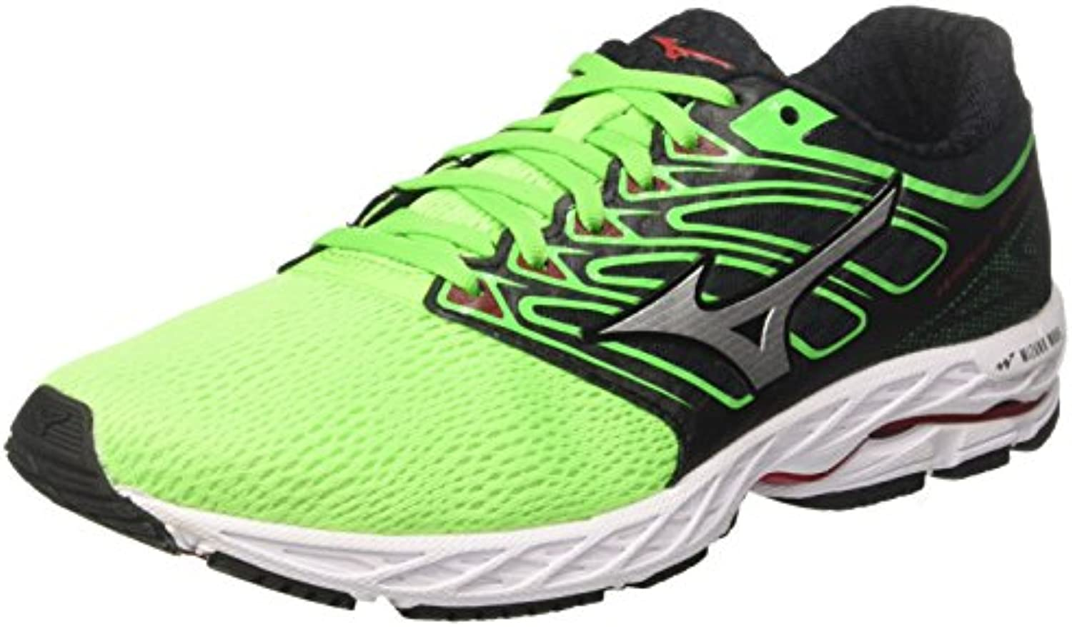Mizuno Wave Shadow Green Slime White Formula One
