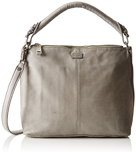 Marc O'Polo - 61017431201100 Eight, Borsa a spalla Donna Grigio (Light Grey)