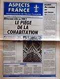 Telecharger Livres ASPECTS DE LA FRANCE No 1956 du 10 07 1986 MITTERRAND REELU EN 1988 LE PIEGE DE LA COHABITATION PAR PIERRE PUJO REIMS CATHEDRALE DE LUMIERE SOMMAIRE DECOUPAGE ELECTORAL SECURITE SOCIALE OPERA BASTILLE AFRIQUE DU SUD SECURITE DES CRACHATS SUR UNE BAVURE LE TIR AUX FLICS PAR ERIC LETTY (PDF,EPUB,MOBI) gratuits en Francaise