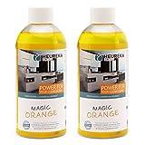 HEUREKA Orangenreiniger Konzentrat - Magic Orange, 2 x 500 ml für 1000 l Reiniger