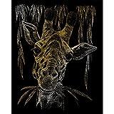 Set Size Royal & Langnickel Oro Incisione Arte A4 Giraffa Creato