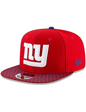 New Era NFL NEW YORK GIANTS Authentic 2017 Sideline 9FIFTY Snapback Game Cap