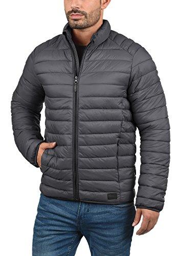 Blend Nils Herren Steppjacke Übergangsjacke Jacke Mit Stehkragen, Größe:S, Farbe:Ebony Grey (75111) - 2