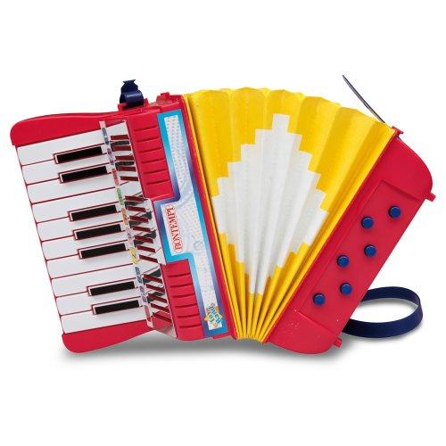 Bontempi AC17801N - Accordion, Akkordeon mit 17 Tasten und 6 Bässen