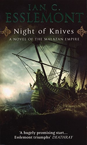 Night Of Knives: A Novel Of The Malazan Empire por Ian C Esslemont