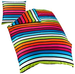 kleine wolke 6109148954 bettw sche rimini 155 x 220 cm farbe multicolor k che. Black Bedroom Furniture Sets. Home Design Ideas