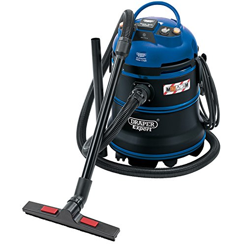 Draper 38015 35 Litre 1200 W 230 V M-Class Expert Wet and Dry Vacuum Cleaner