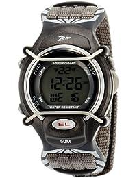 Zoop Digital Grey Dial Children's Watch -NKC3001PV04
