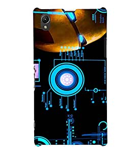 PRINTSHOPPII IRON MAN FAN Back Case Cover for Sony Xperia Z1::Sony Xperia Z1 L39h