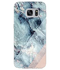 Make My Print Nature Printed Green Soft Silicon Back Cover For Samsung Galaxy S7