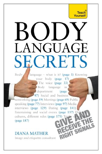 Body Language Secrets: Teach Yourself Ebook Epub (English Edition ...