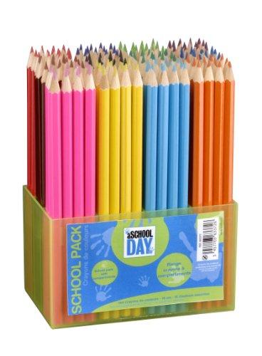 jpc-creations-schoolpack-363372-set-di-pastelli-144-pezzi-colori-assortiti