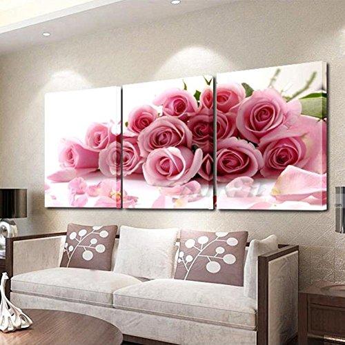 Cuadros de Flores Rosas