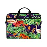Best Kind Macbook Cases - Laptop Case, Tropical Flamingo Leaf Personalized 3D Printed Review