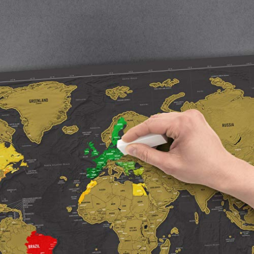 scratch map deluxe edition amazon