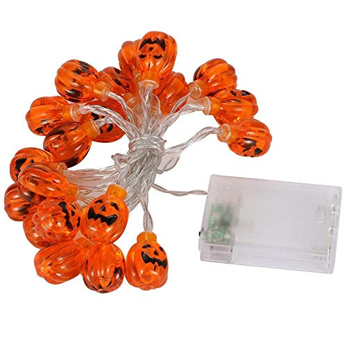 Ghost festival lights, battery box led batteria di zucca di halloween fai da te soggiorno, camera da letto, stanza dei bambini, festa e altre strisce luminose decorative, c
