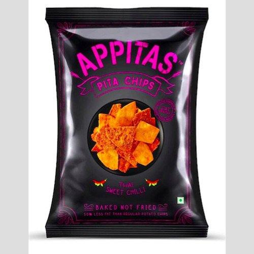 Appitas Pita Chips – Thai Sweet Chilli