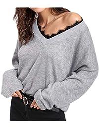 online store b125e 357fd Suchergebnis auf Amazon.de für: spitzen pullover: Bekleidung