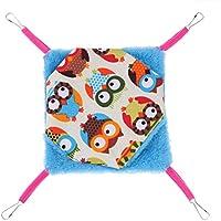 Everpert - Hamaca para mascota, diseño de ardilla, para colgar en la cama, hamster