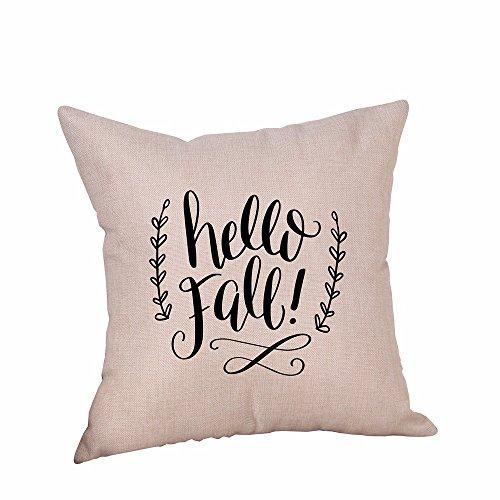 (VEMOW Heißer Happy Halloween Kissenbezüge Heimtextilien Leinen Sofa Kissenbezug Wohnkultur 18
