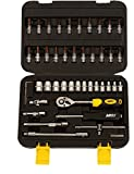 Hawk Mega Drive Socket Set, 46Pcs Spanner Socket Set 1/4