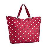 reisenthel shopper XL ruby dots - Schultertasche Umhängetasche rote Punkte