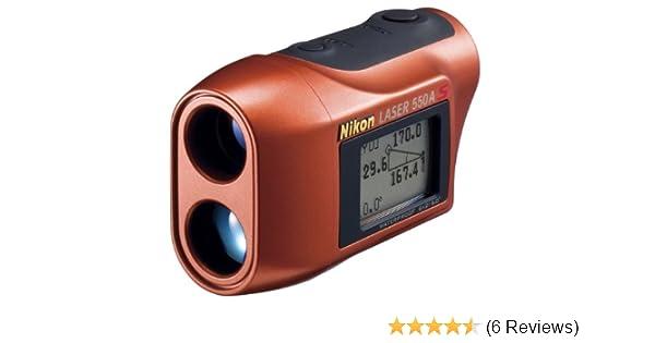Nikon Entfernungsmesser Test : Nikon lrf 550a s distanzmesser messbereich 10 500m für golf sport