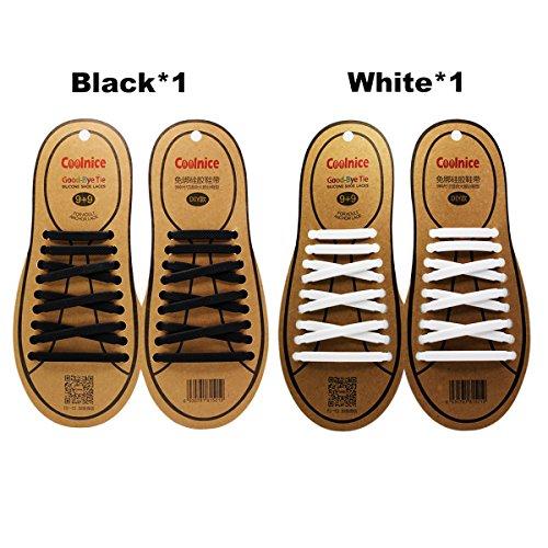 coolnice-lot-de-2-pairs-lacets-elastique-en-silicone-sans-lacage-etanche-pour-chaussure-adults-et-en