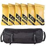 COSTWAY 27KG Power Bag, Sandbag aus Oxford, Core Bag inkl. 6 x 4,5 kg Sandsack, Gewichtsack, Trainingssandsack zum Gewichtheben, Training, Fitness