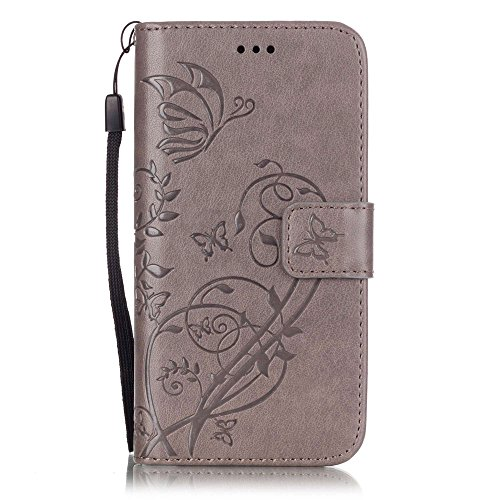 Nutbro iPhone SE Case, iPhone 5s Case,Wallet Case for iPhone SE / iPhone 5s / iPhone 5, Flip Leather Wallet Cases Slim Folio Book Cover with Credit Card Slots, Cash Clip YB-iPhone-5S-228