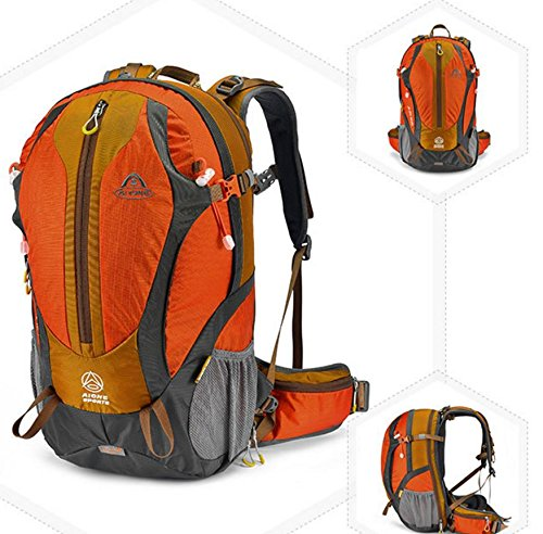 ROBAG Outdoor-Sporttasche, wasserdichter Rucksack Mode 35L orange