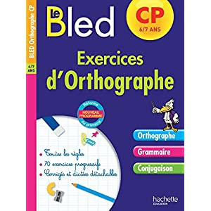 Cahier Bled Exercices D 39 Orthographe Cp Livre Francais