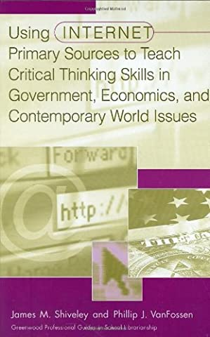 Using Internet Primary Sources to Teach Critical Thinking Skills in