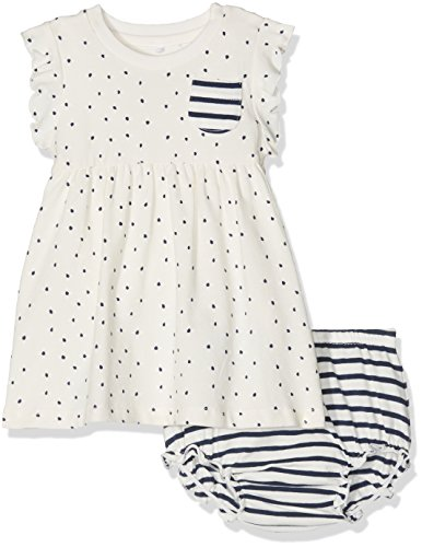 NAME IT Baby-Mädchen NITFRYD Spencer W. Brief Box MZNB Kleid, Weiß (Snow White), (Snow White Baby Kleid)