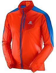 Salomon Fast Wing M - Chaqueta para hombre, color naranja, talla L