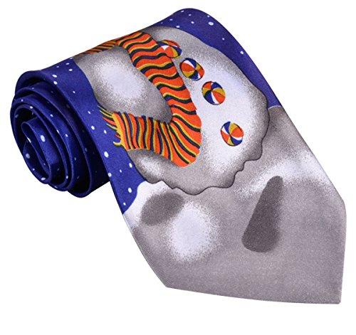 Weihnachten Krawatte, Fascigirl Mens Krawatte Santa Schneemann Weihnachtsbaum -