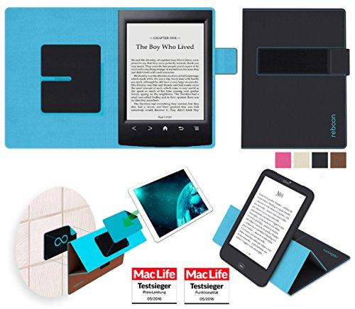 reboon Hülle für Sony PRS-T2 Tasche Cover Case Bumper | in Schwarz | Testsieger